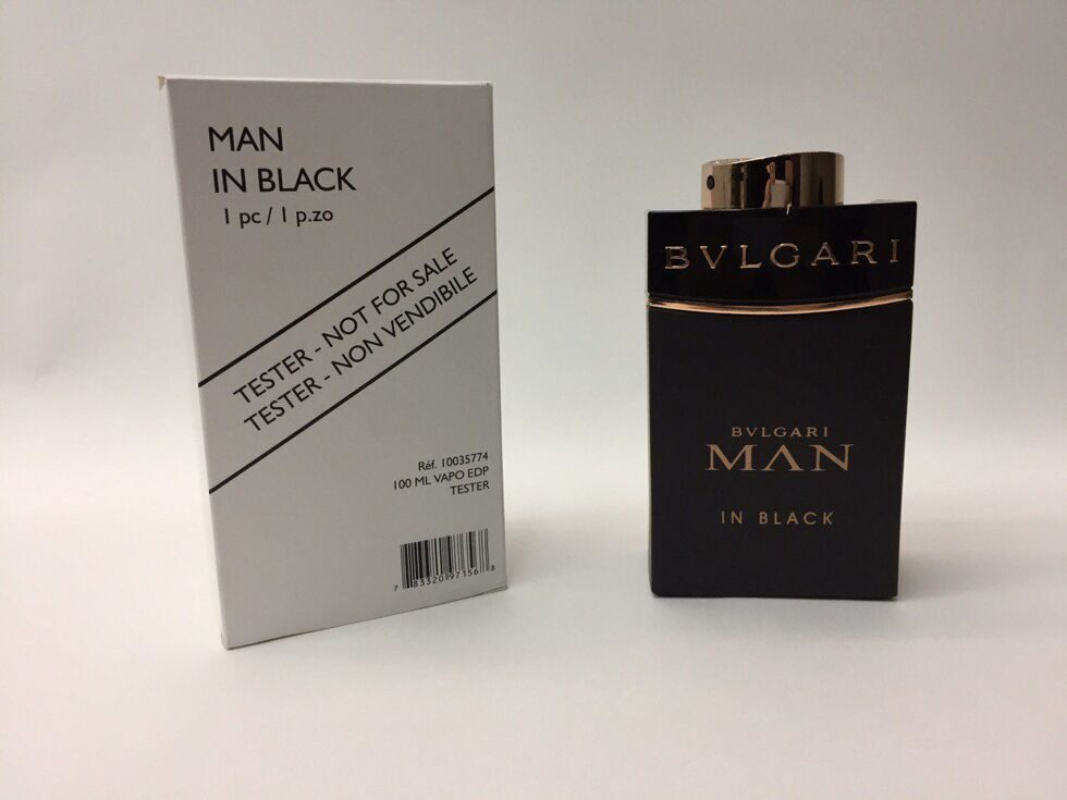 Bulgari Man in Black Tester 100ml