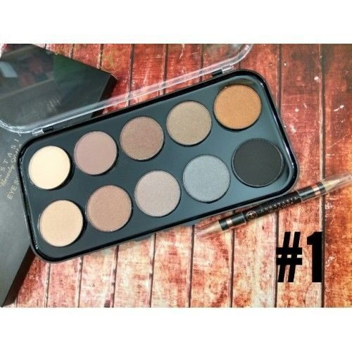 ANASTASIA EYE SHADOW KIT 10 оттенки