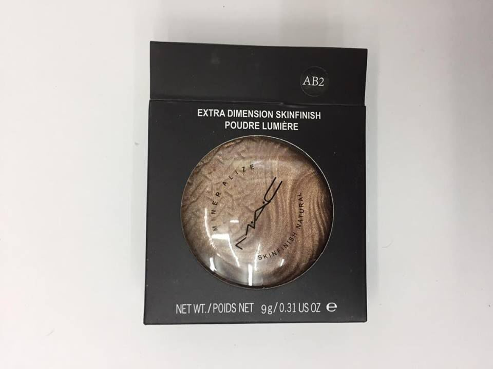 MAC AB2 extra dimension skinfinish poudre lumiere