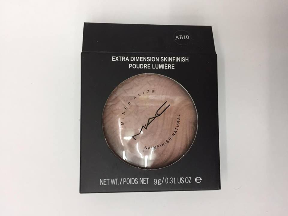 MAC AB10 extra dimension skinfinish poudre lumiere