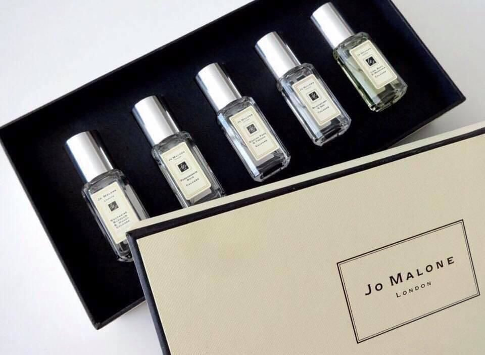 Joo-Mallone cologne collection set