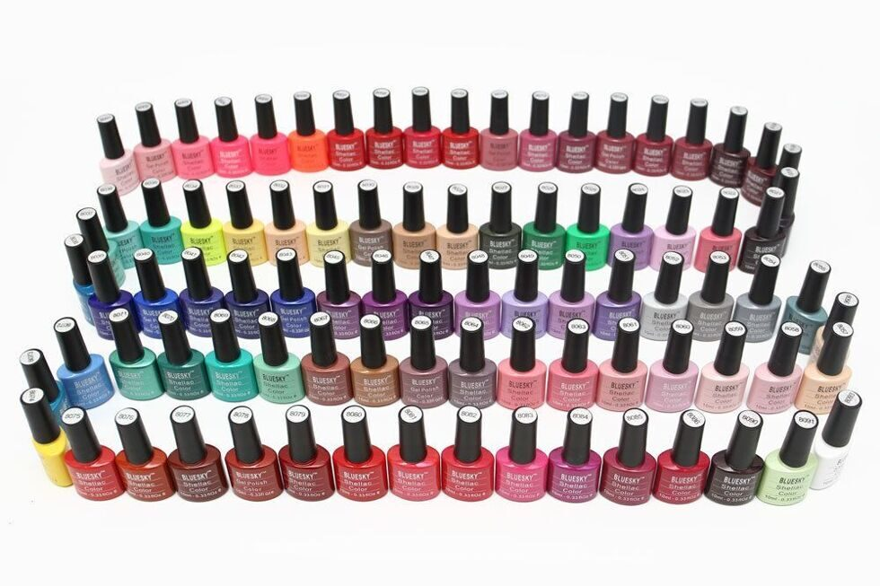 Bluesky Shellac Color 10ml (цена за 1 шт)