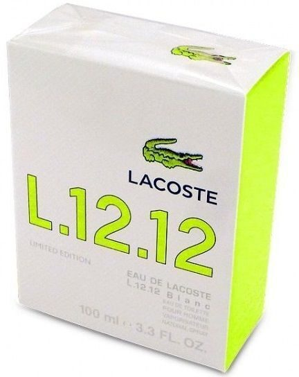 Eau De Lacoste L.12.12 - Blanc Limited Edition 100 ML