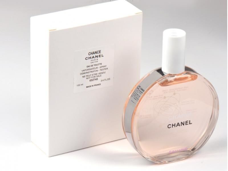 chanel chance vive tester
