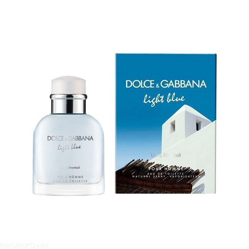 Dolce & Gabbana  -Light Blue Living Stromboli 90ml