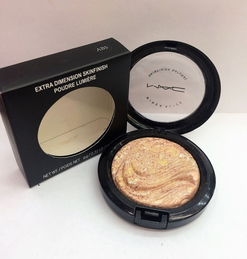 M-A-C AB5 extra dimension skinfinish poudre lumiere